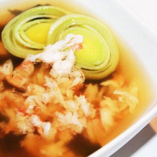 Мисо суп с крабом